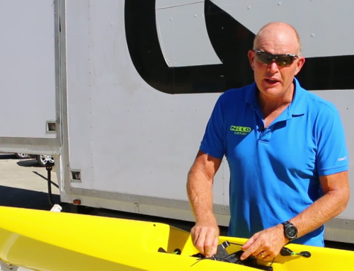 Nelo Surfski Video – Adjusting the foot plate